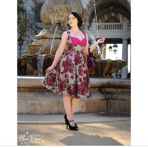 "Laura Byrnes for Pinup Couture  ""Grace"" dress S"